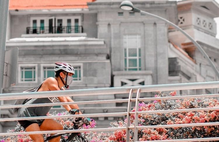 サイクリング用マスク