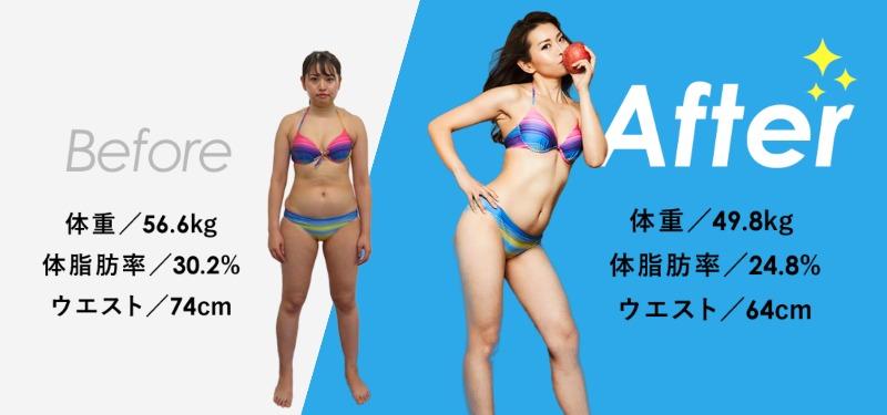 Apple GYM ビフォア・アフター3