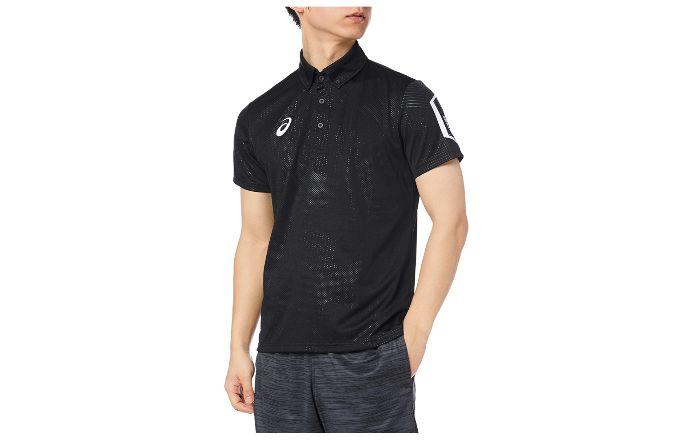 メンズ用スポーツポロシャツ